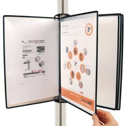 Fixation profilé aluminium T-Clip - Système de fixation de poches -  -
