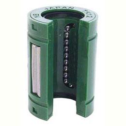 Douille à billes : Auto-alignante, Topball - Ouverte - Acier / Thermoplastique