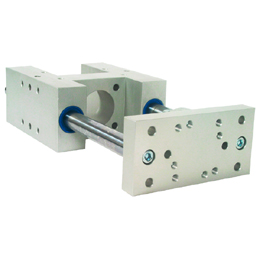 H Type Guide units - For Ø32 actuators - ISO 15552 -