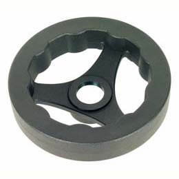 Hand wheel - Polyamide - Spoked - Without handle