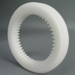Internal gear - Machined plastic (delrin) - 1.00 - Yes
