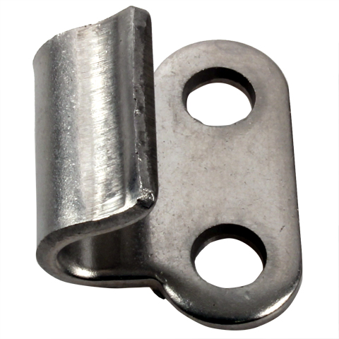Locking clips hook - 18mm - Stainless steel -