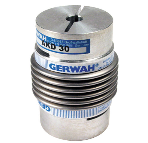 Bellows coupling Gerwah® - from 22 to 600Nm - With clamping jaw -