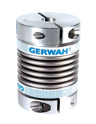 Bellows coupling Gerwah® - from 22 to 180Nm - With clamping jaw -