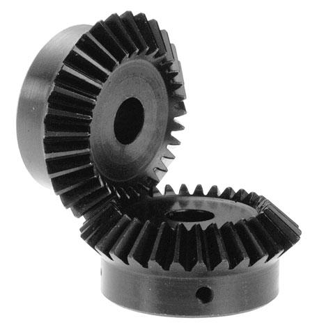 Bevel gear - Steel 60C40 - 1:1 - 2.00 -