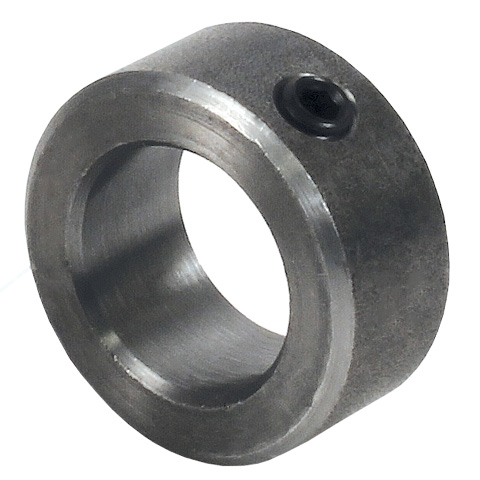 Shaft collar - Steel - Single element - Conforms to DIN705, solid