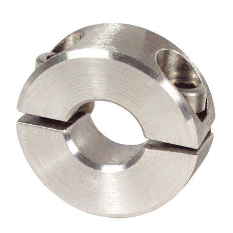 Clamping ring - Stainless steel - 2 elements - Budget