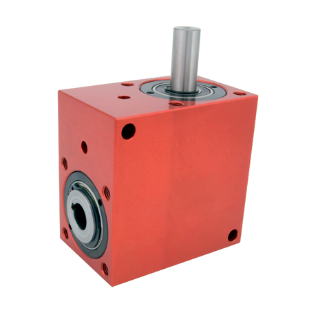 Right angled gearbox - up to 10.3 Nm - 1 bored shaft/1 solid shaft - 4000rpm