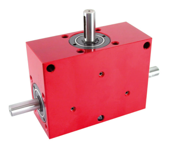 Right angled gearbox - up to 128 Nm - double output shafts - 3000rpm