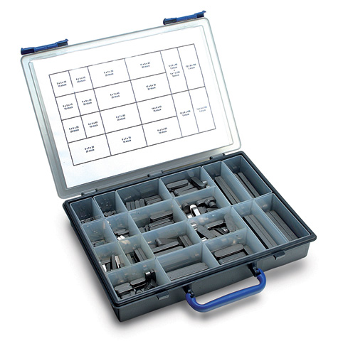 Key - Boxed set - Steel or stainless steel - rectangular DIN 6885 -