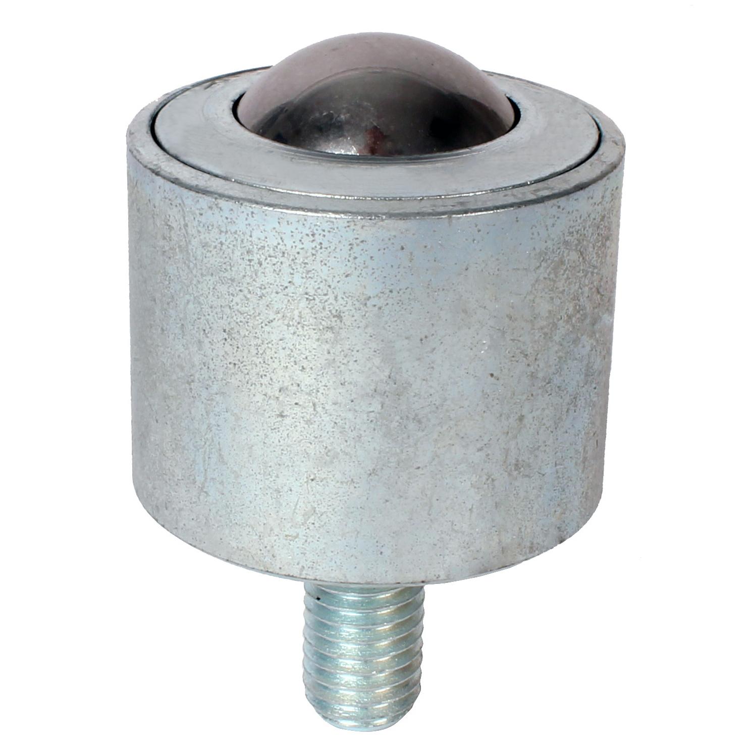 Bille porteuse - Forte - Corps acier / billes acier - Fixation par tige filetée