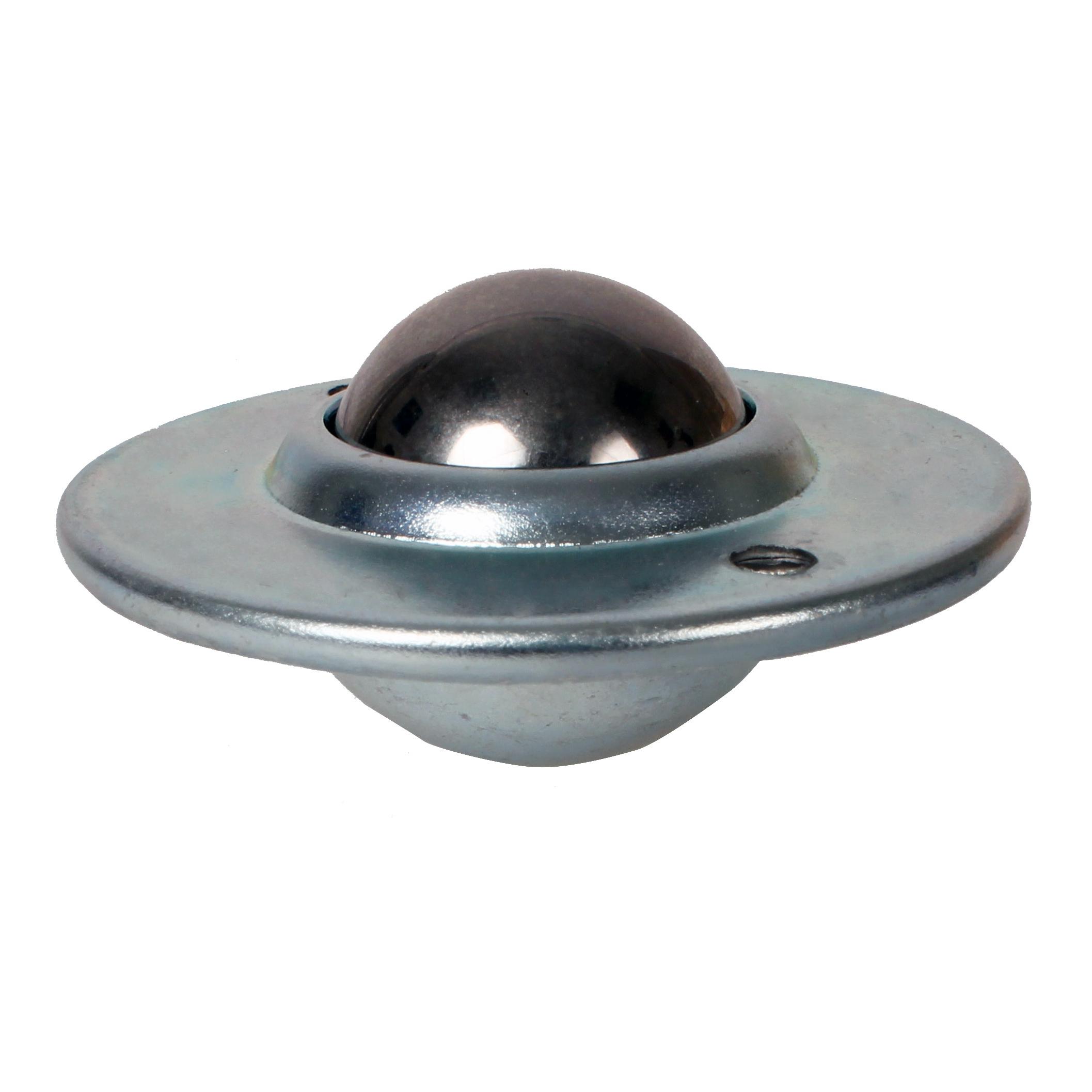 Ball transfer unit - Light - Steel body, steel balls - Flush fitting