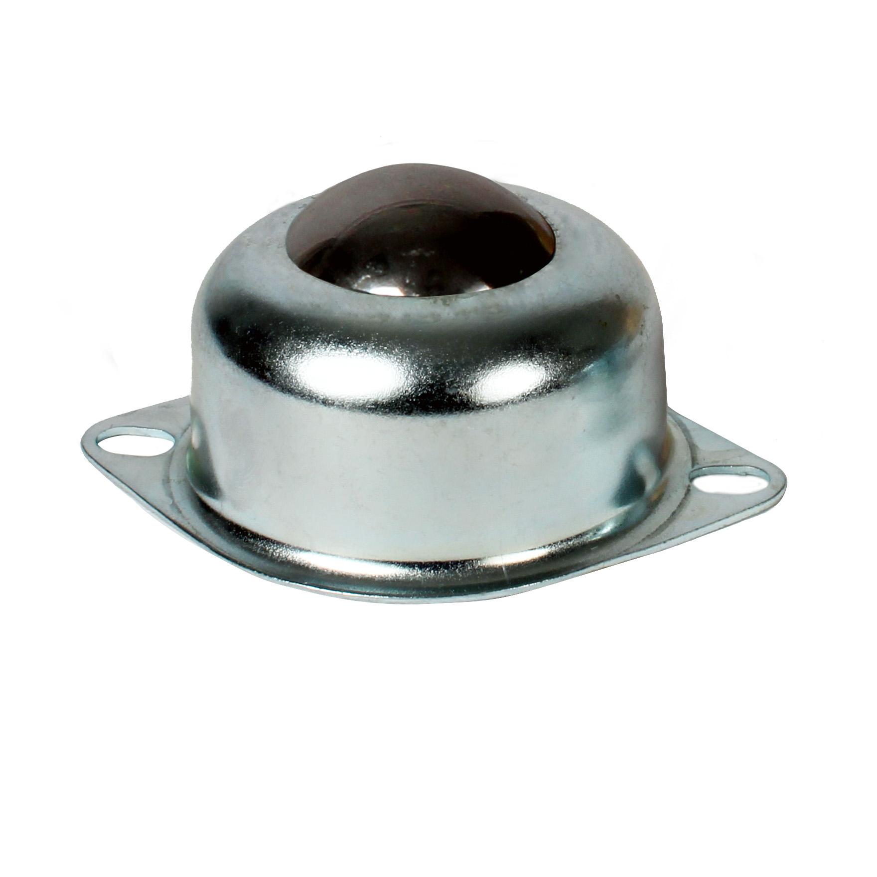 Bille porteuse - Légère - Corps inox / billes inox - Profil haut