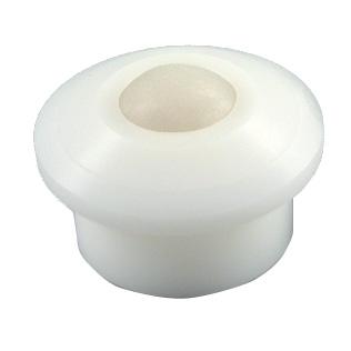Ball transfer unit - Light - Plastic - Flange mounting