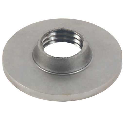 Tube end cap - To be welded - Round -