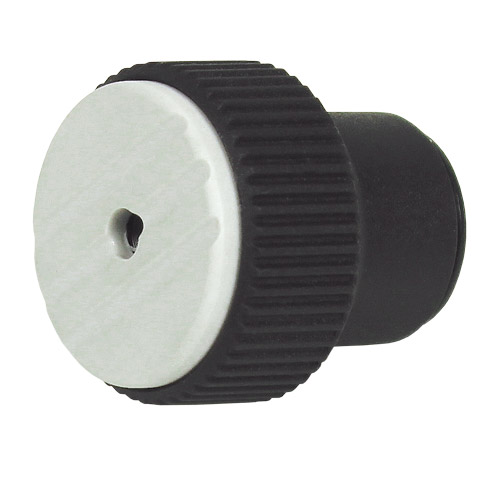 Knob for clamping - Knurled threaded torque - female - Grey
