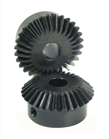 Engrenage conique - Acier 60C40 - 2:1 - 0,80 -