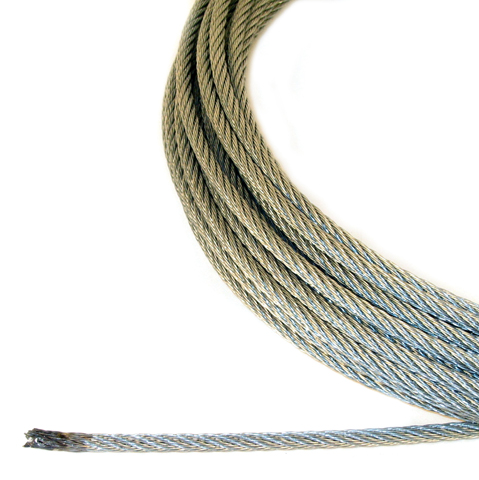 Aircraft Cable Material Galvanised Steel Type 7x7 Or 7x19