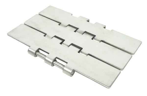 Chaîne à palette droite - Large série 805 - Inox -