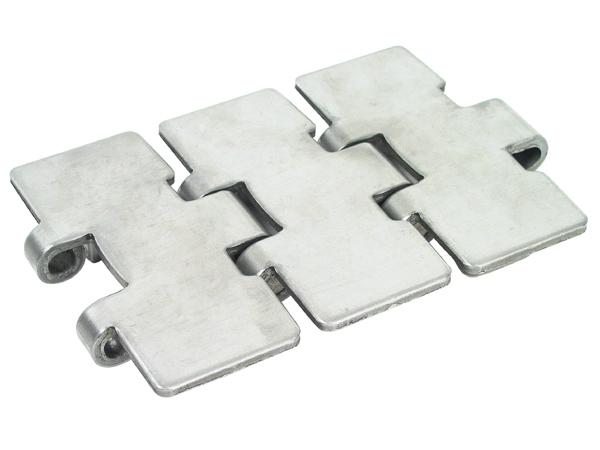 Flexible plate chain - Narrow range 881 - Stainless steel -