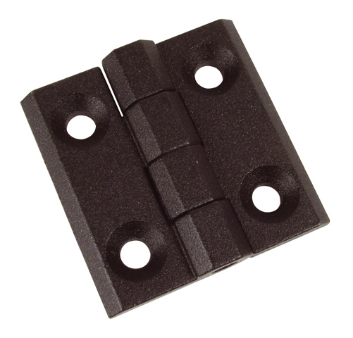 Screw-in hinge - Section 50X50 - Close- fitting -