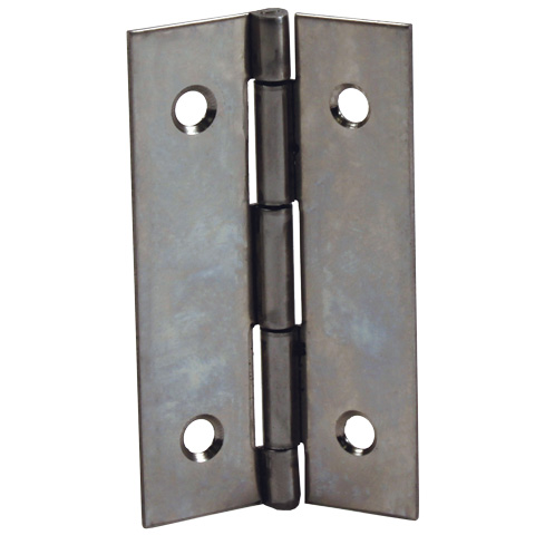 Hinge - Rectangular, drilled or countersunk - Stainless steel -