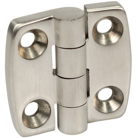 Decorative hinges - Stainless steel - square  screwed -