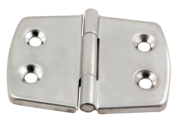 Hinge (stainless steel) - Marine - Close- fitting -