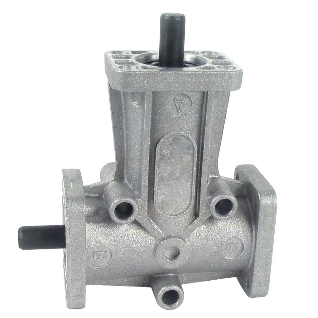 Réducteur à renvoi d'angle en L ou T - Jusqu'à 4,7 Nm - Ø8 -
