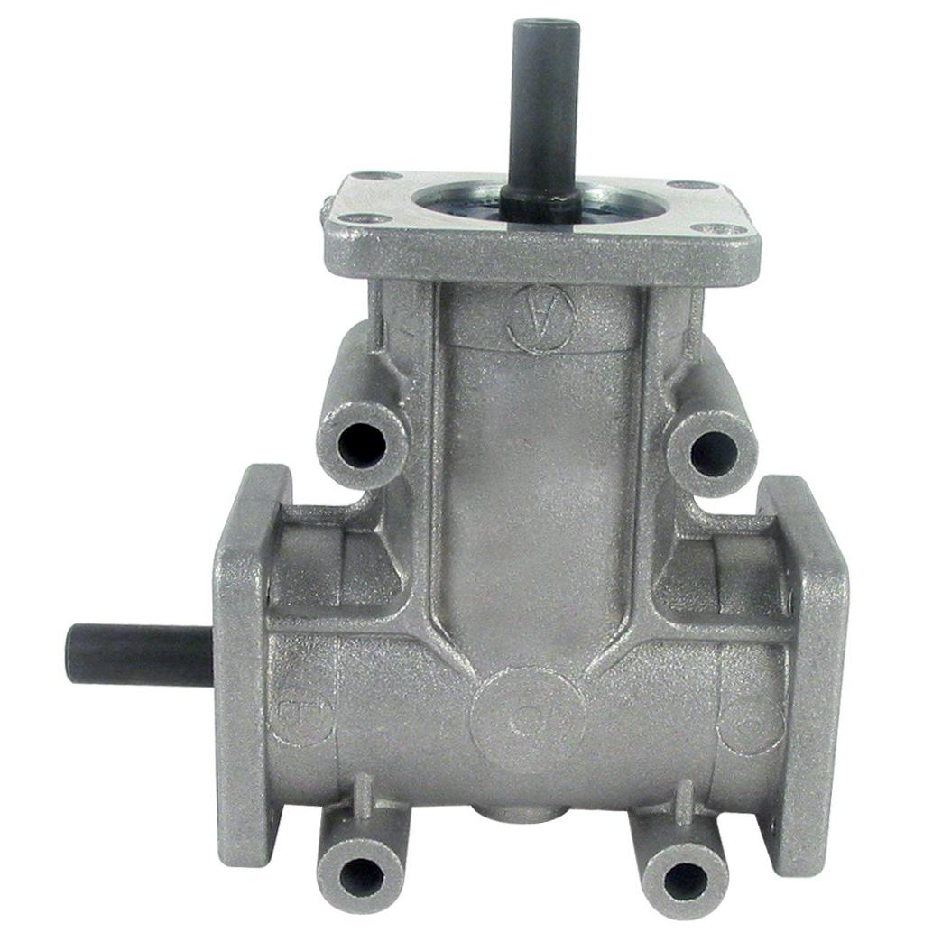 Réducteur à renvoi d'angle en L ou T - Jusqu'à 9,1 Nm - Ø8 -