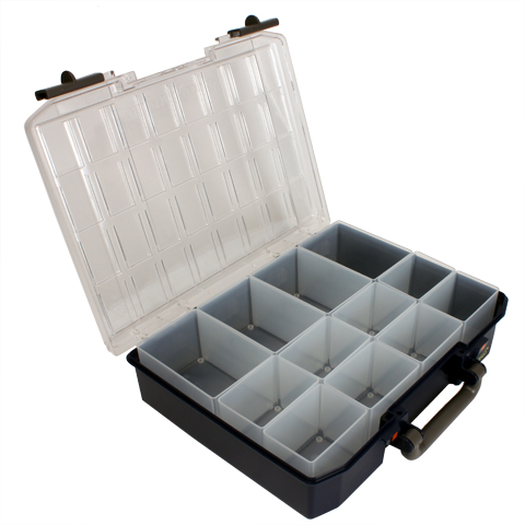 Professional storage box - Carrylite double lid -  -