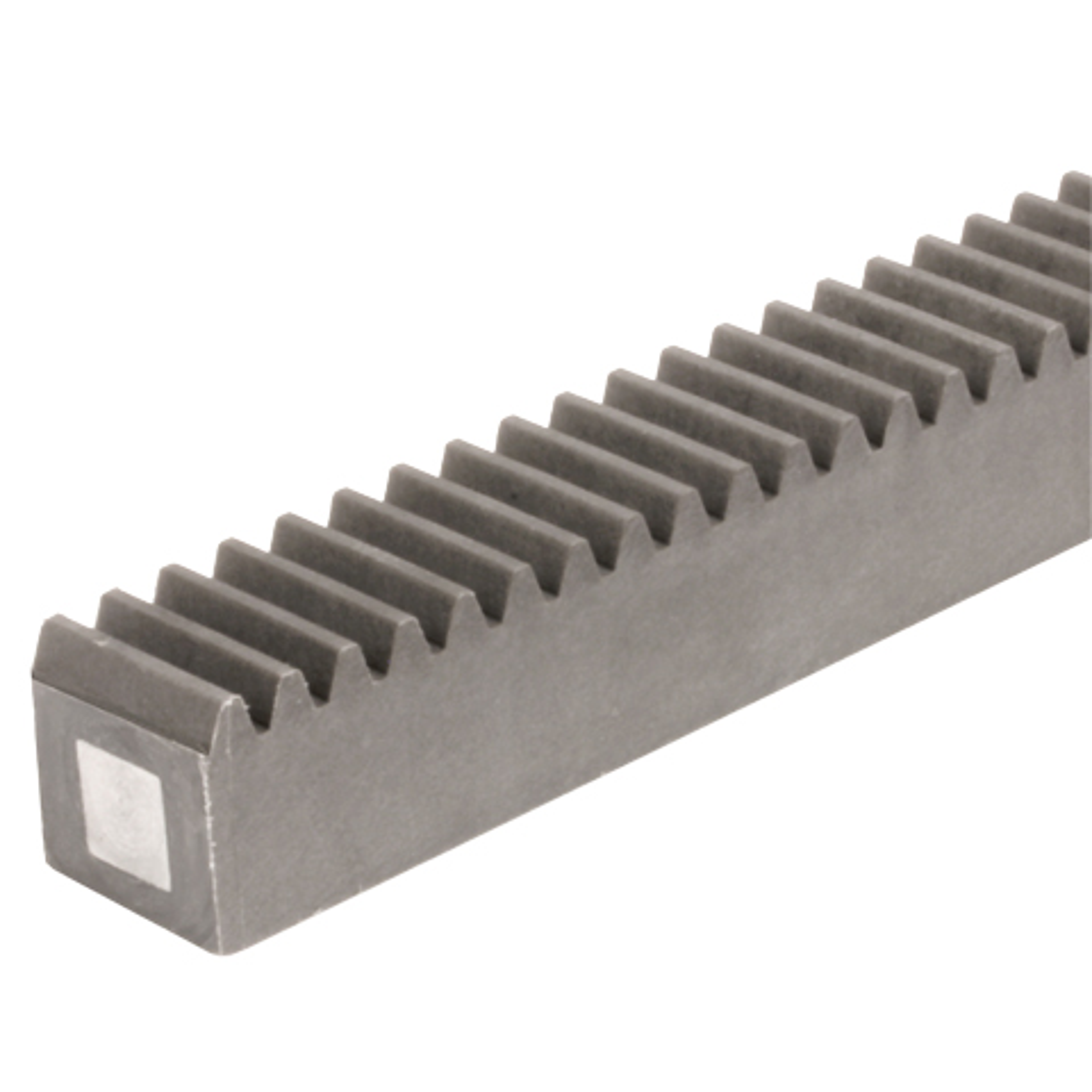 Cremagliera sezione quadrata - Nylon - Con anima in acciaio - da 351,67mm a 1000mm