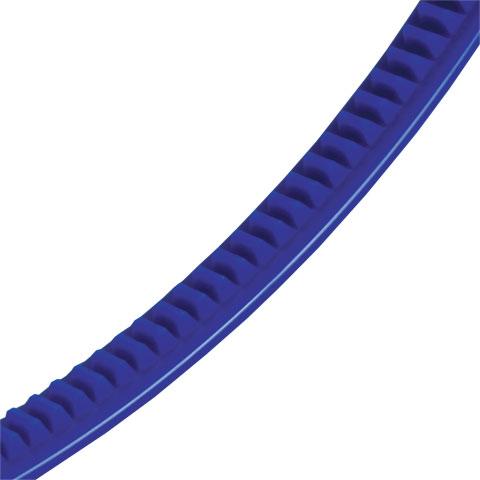 Crémaillère flexible plastique - Crémaillère - 2000mm - 150mm