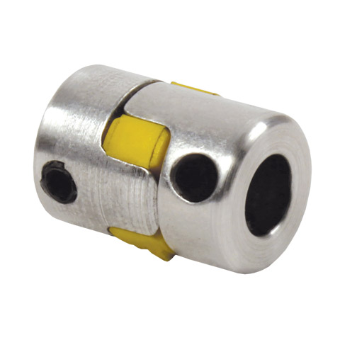 Backlash free coupling Gerwah® - from 0.5 to 35Nm - With set screw -
