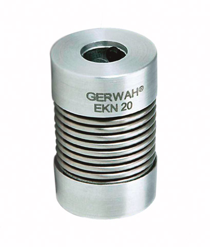 Bellows coupling Gerwah® - from 0.5 to 12Nm - Miniature - with set screw -