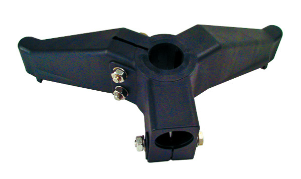 Support base - Bipod support element with cross support -  -