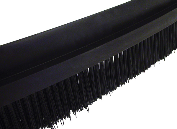 Brush per metre - Black polyamide 6 - medium size - 5m -