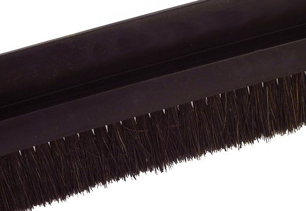 Brush per metre - Black horsehair - Small - 5m