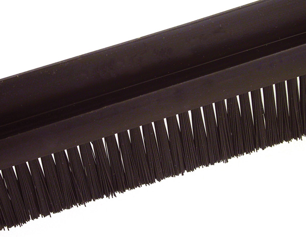 Brush per metre - Black polyamide 6 - small size - 5m -