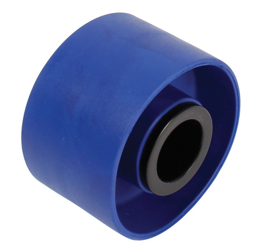 Guide roller for plate chain return - Rubber - Ø60 - Ø20 axle