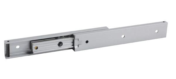 Glissière télescopique - Miniature - 20 à 39 kg - 3 rails