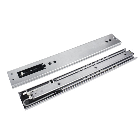 Telescopic slide rule - Extended length - 60kg max - 3 rails