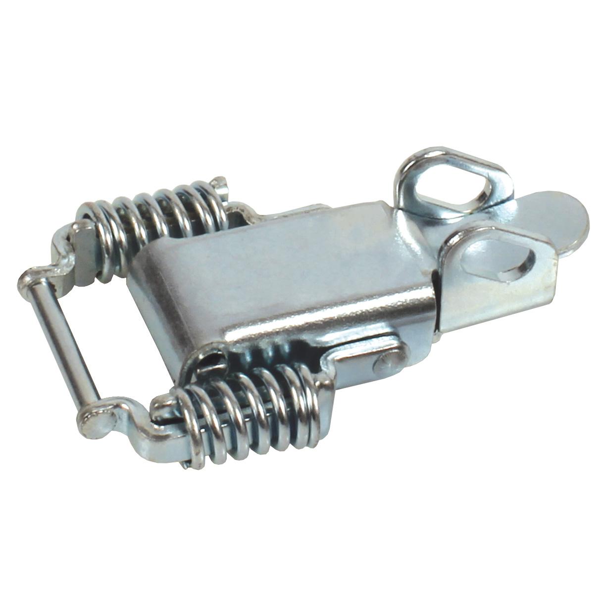 Grenouillère ressort à biellettes - Avec porte-cadenas - Acier -