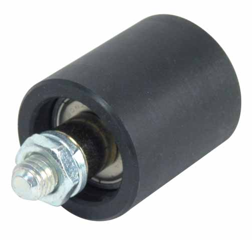 Belt tension rollers - For standard applications - Polyamide and galvanised steel - Greased for life