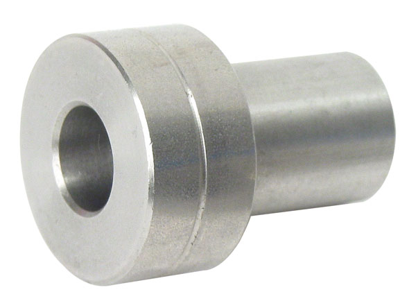 Half-rail guide - Adjustment bushing - Steel concentric bushing -