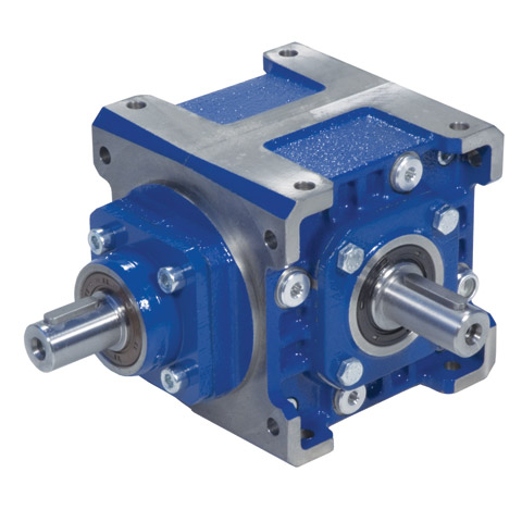 Right angle bevel gearbox - Up to 78Nm - With input shaft -