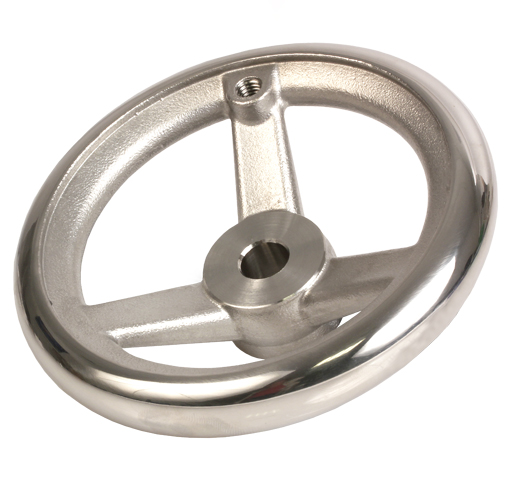 Hand wheel - Stainless steel 316 - Spoked - Without handle