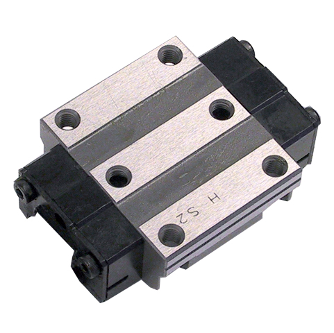 Guida lineare a rulli - Carello - da 9410 N a 101000 N - Rulli acciaio - Autolubrificante