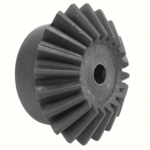 Moulded plastic bevel gear (nylon) - 3:1 - 3.00 - Economy range