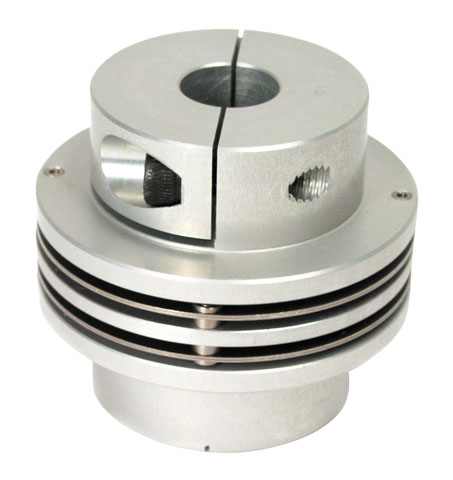 Flexible coupling - Double disk - Clamping jaw -